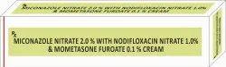 Miconazole Nitrate 2.0 % With Nodifloxacin Nitrate 1.0% & Mometasone Furoate 0.1 % Cream