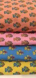 Multicolor Cotton Suit Fabric For Ladies
