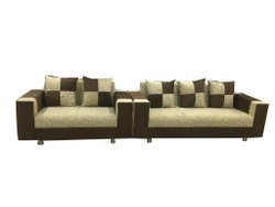 Sinhasan Industries Wooden Dry Clean Straight Sofa, Living Room