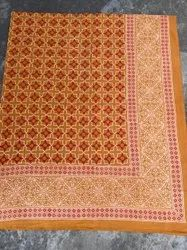 New Latest Natural Bagru Handblock Printed Cotton Double Bedsheet.