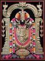 Tirupati Balaji 3d Painting