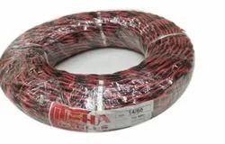 PVC Red, Black 14/60 Usha Flexible Wire, 220 V