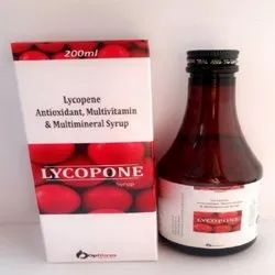 Lycopene Antioxidant Multivitamin and Multimineral Syrup