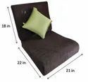 Flexi Comfort Seat Size 21X22/23/24 In And Backrest Size-21x18 In + Blissco Back Support