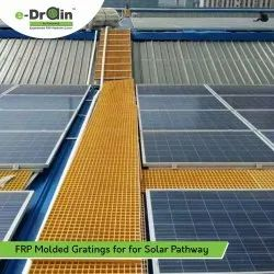 FRP Molded Grating For Solar Pathway