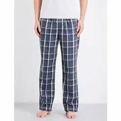 Checked Track Pant