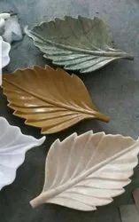 Leaf Polished Marble Leaves