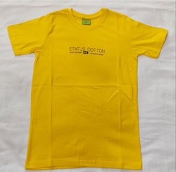 Half Sleeve 100 PERCENT COTTON Boys Printed T Shirts