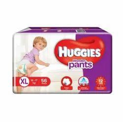 Cotton Pant Diapers Huggies Baby Diaper, XL