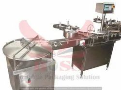 Labeling Machine With Turn Table