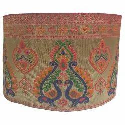 Rapier Jaquard Embroidered Jacquard Saree Lace