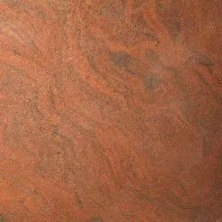 Solid Polished Red Multicolor Granite