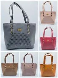 HEAVY QUALITY SNT NATIONAL LADIES HAND BAG WITH SUPERIOR QUALITY COLOURED ATTRACTIVE DESIGNS-SNT-307