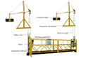 ZLP800-7.5 m Rope Suspended Platform