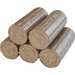 Cylindrical Briquette Bio Coal Briquettes, Ash Content: Less Than 10%, Packaging Size: Loose in Tons