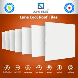 Heat Insulation Cool Roof Tile
