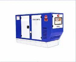 20 kVA Escorts Diesel Generator, 3 Phase