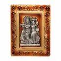 Krishna Wall Hanging ABS/Plastic Decorative Showpiece
