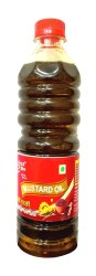 Yellow Kachchi Ghani 500ml Mustard Oil Bottle