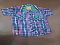 Shirts & T-Shirts Check & Plane Boys Shirt, Size: 2years To 14Years