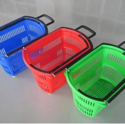 Supermarket Wheel Basket