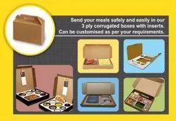 3 Ply Corrugated food box