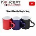 Heart Handle Magic Mug Color Changing