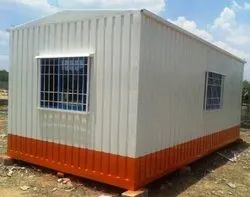 MS Paint Coated Portable Cabin