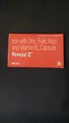 Iron With Zinc, Folic Acid And Vitamin B 12 Capsule