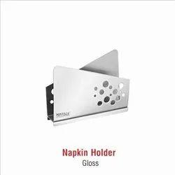 Stainless Steel Gloss Napkin Holder