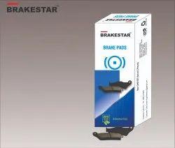 Iron Front Two Wheeler Disc Brake Pad, Packaging Type: Box