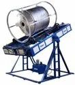 Open Flame Rock and Roll Rotational Moulding Machine