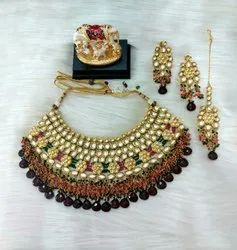 Golden Kundan Jewellery