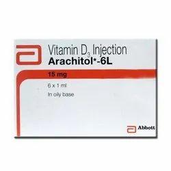 Arachitol 6 Ml Injection ( Vitamin D3 (600000IU)