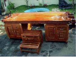 Wooden Massage Table - Dhara Pathy - Shirodhara Type