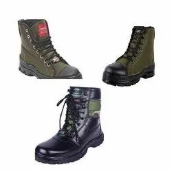 Kriscan  S3 Safety Protection Army and Military Shoes