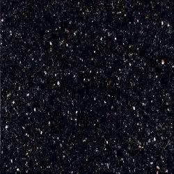 Polished Random Black Galaxy Granite Slab, Thickness: 17-18 mm