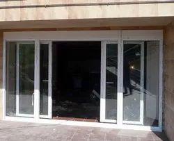 Partition Doors Pristine White Balcony UPVC Sliding Door, For Home, Exterior