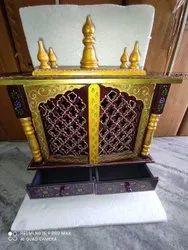 手雕刻木寺庙mandir pooja ghar,为家