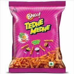 Bingo Tedhe Medhe Masala Tadka, Packaging Size: 25g
