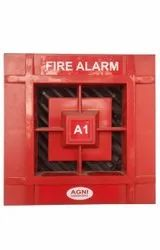 M S Body Red Agni Fire Alarm System, More Than 90 Db