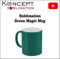 Sublimation Green Magic Mugs