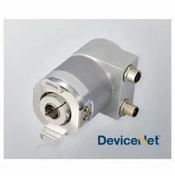 Serie HS10 Devicenet Singleturn Absolute Blind Hollow Shaft Encoder