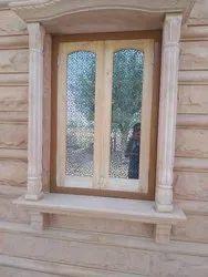 Fancy Wooden Window