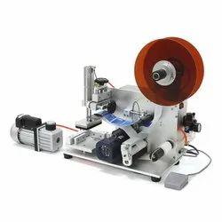 Semi Automatic Flat Labeling Machine