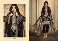 Fair lady Unstitched Designer Pakistani Suit, Handwash