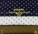 Planet 100% Cotton Satin Print Shirting Fabric