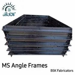 Mild Steel Angle Frame, Thickness: 3 MM, Size: 25 MM