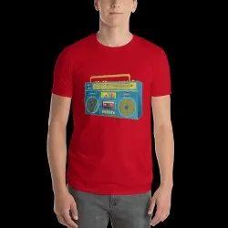 Customised Printed Men''S Promotional T Shirt