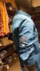 Casual Wear Plain Cargo designer shirts